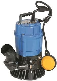 Tsurumi HSZ2.4S; Float Operated semi-Vortex Submersible Trash Pump w/Agitator, 1/2hp, 115V, 2