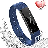 Fitness Tracker Cardiofrequenzimetro da Polso, Activity Tracker Pedometro Bracciale Intelligente...