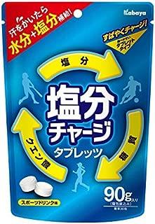 カバヤ 塩分チャージタブレッツ 90g×6袋