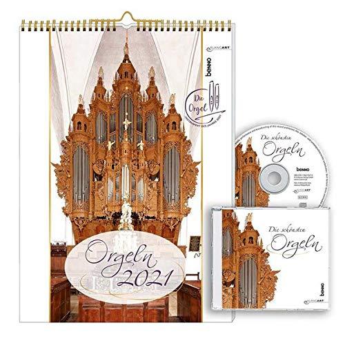 Orgeln 2021: Kalender mit CD