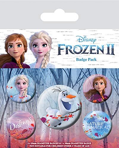 Funko Pop! - Disney (Frozen 2), Pack De Chapas (Windows)