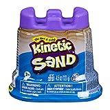 Kinetic Sand- Mini Castello con Sabbia Modellabile, Colore Blu, 141 gr, 20084077
