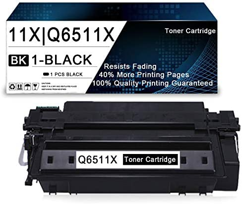 1 Pack Black 11X Q6511X Compatible Toner Cartridge Replacement for HP Laserjet 2430 2410 2420 product image