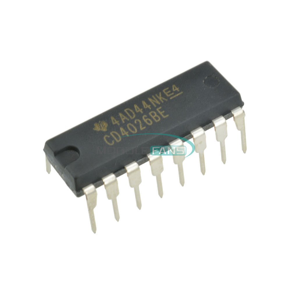 Major Brands Limited time trial price CD4026BE CD4026B CD4026 Decade Divider Counter Import CMOS