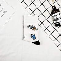 おかしいソックスノベルティハッピーレディースメンズアニマルかわいいソックスファッションアニマルプリントコットンクリスマスギフト Rebirtha (Color : 3)