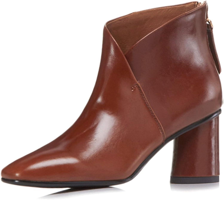ANNIEschuhe Stiefeletten Damen Ankle Ankle Stiefel Leder Absatz  Großhandelsgeschäft