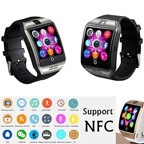 Bluetooth Smart Horloge voor Smartwatch Touch Screen Telefoon Horloge met SIM-kaart Slot Sport Horloge Camera Stappenteller Fitness Trackers voor Samsung Huawei Xiaomi Android-telefoons