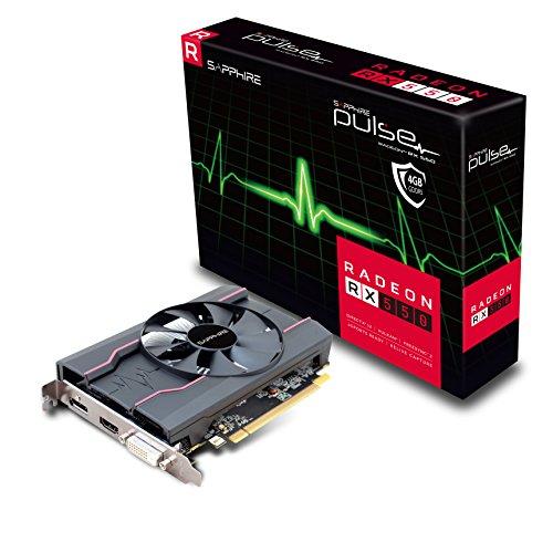 Sapphire 11268-01-20G Carte Graphique 4 Go 1206 MHz AMD Radeon RX 550