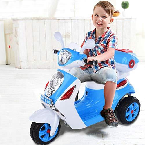 LUGUO 6V 4.5A Kids Electric Motorbike, Anti-Vibration Kids Trike, Kids...