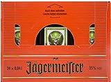 Pack 20 botellitas licor Jagermeister 40ml miniatures