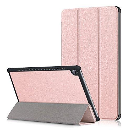KATUMO Custodia per Huawei MediaPad M5 10.8, Smart Case Cover con Stand Funzione per Huawei MediaPad M5 10.8', Oro Rosa