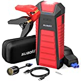 SUAOKI U28 2000A Arrancador de coche, con USB Power Bank, LED Flashlight, Multifunción,...