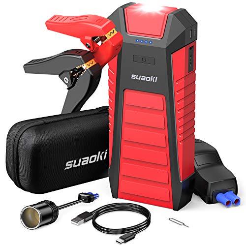 Suaoki U27 – Avviatore per Auto da 25000mAh e 2500A