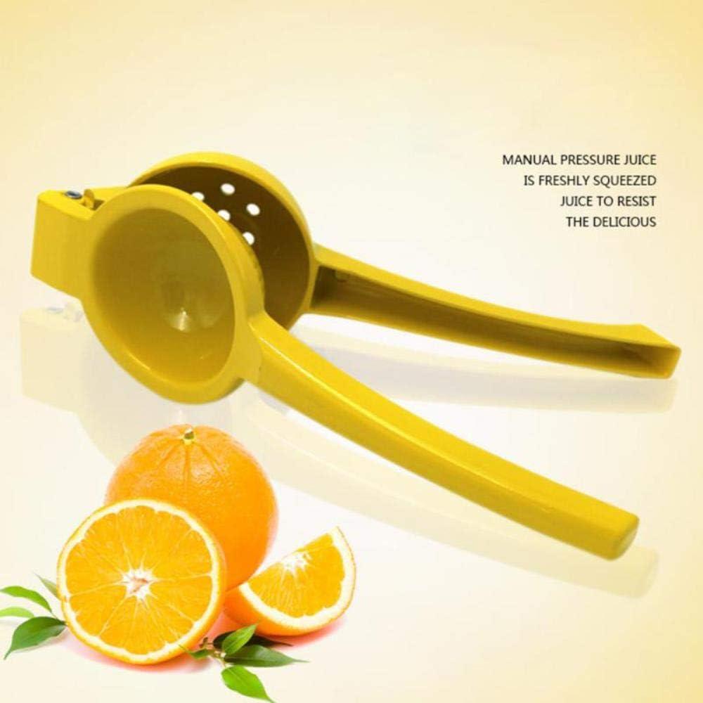 XUYI Exprimidor Manual de limón Exprimidor Manual Exprimidor de Jugo de Fruta de Naranja Herramienta de Cocina rápida 1pc, M M