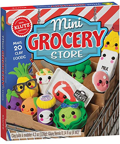 MINI GROCERY STORE Clay Food Model (Klutz)