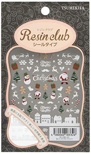レジンクラブ レジンシール クリスマス (両面印刷) RC-CRS-101