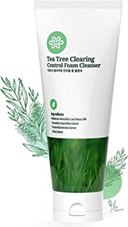 LovLuv Tea Tree Foaming Facial Cleanser, K Beauty Daily Face Wash with Natural Ingredients and Anti Aging Properties [6 Oz] (1 PK)
