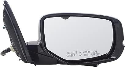 Passengers Power Side View Mirror Heated Signal w/Camera Replacement for 13-17 Honda Accord 76200T2GA42ZC AutoAndArt
