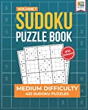 Medium Sudoku Puzzle Book: 432 Medium Sudoku Puzzles for Adults (Medium Sudoku Series)