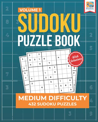 Compare Textbook Prices for Medium Sudoku Puzzle Book: 432 Medium Sudoku Puzzles for Adults Medium Sudoku Series  ISBN 9781956652062 by Snider, Stan