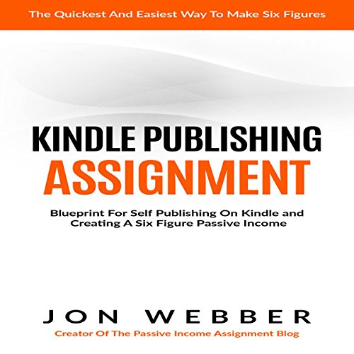 Kindle Publishing Assignment audiobook cover art