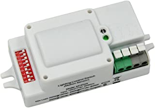 Motion Sensor Switch Automatic Switching Based on Motion and Ambient Light Level for Garages, Warehouses, Hallways, Stairways, AC120-277V, UL Listed