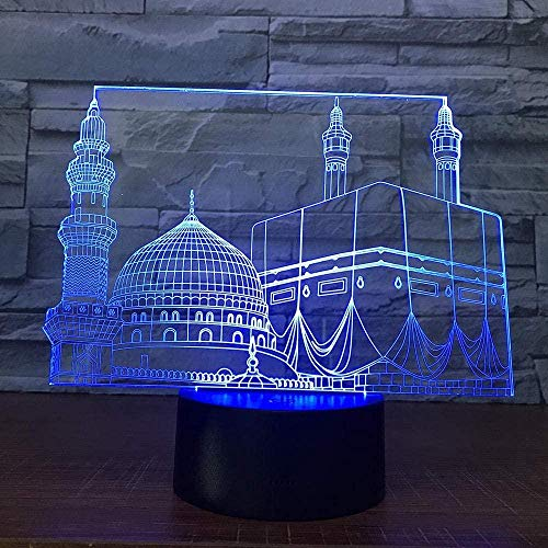 3D Illusion Lamp Led Night Light World of Warcraft Amuro Game Lovers Lámpara de mesa Decoración para el hogar Regalo de Navidad Wow Ouvenir Kids Toys Heroes-Bluetooth