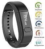 Smart Fitness Tracker pulsera, megadream Bluetooth 4.0 Inteligente Podómetro Seguimiento de calorías Salud Monitoreo de Sueño Recordatorio ID de llamadas pantalla Bandas de Muñeca Reloj De Pulsera
