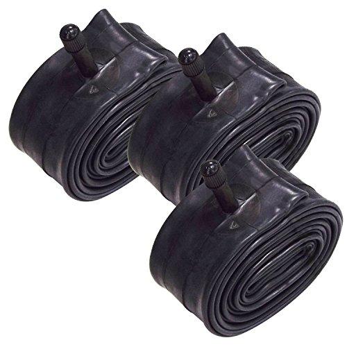"""VeloChampion Paquete de 3 Tubos Interiores MTB 26 x 1.75/2.125 Pulgadas con válvula Presta/Schrader 36 mm (26"""" (1.75/2.125), 36mm Schrader) ⭐"""