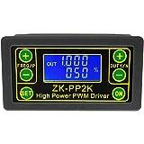 Kcnsieou ZK-PP2K PWM DC Motor Drehzahlregler Frequenz Einschaltdauer Regler Einstellbarer Schalter LED Dimmer Digital Puls Treiber 2 Modi