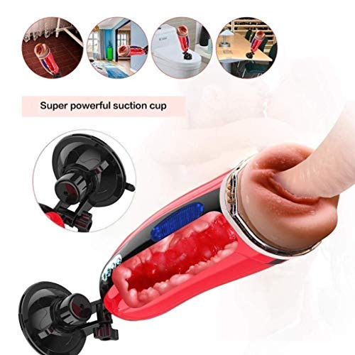 Check Out This Anlgg Male Self-Pleasure Automatic 3D Hands Free Male Deep Throat Intelligent Heated ...