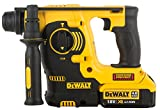 DeWalt DCH253M2-QW Marteau perforateur SDS-Plus 3 modes 18V - Travaux de burinage...