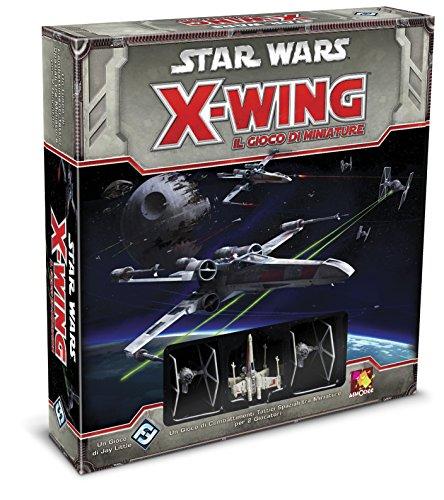 Asmodee- Star Wars X-Wing Il Gioco di Miniature-Edizione Italiana, Colore Rosso, 9900