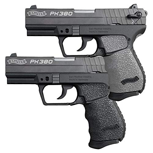 Galloway Precision TractionGrips Grip Overlay in Grey for Walther...