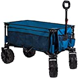 Timber Ridge Folding Wagon Collapsible Utility Big Wheels...