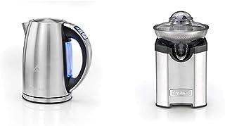 Cuisinart CPK17E Bouilloire digitale multi-température, variable 85-100°C, LCD, acier inoxydable brossé, 3000 W, 1.7L & Cu...