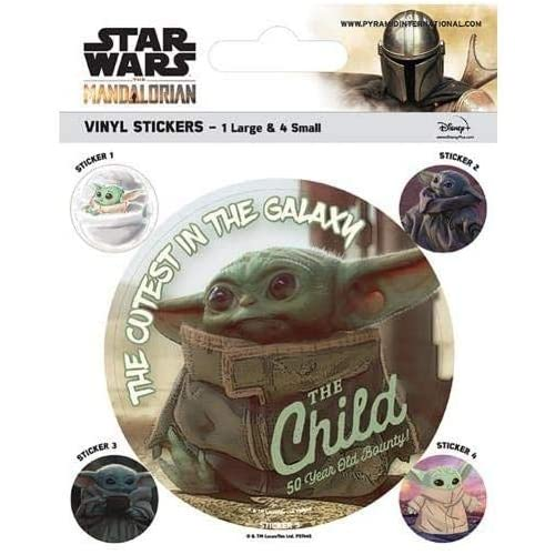 STICKERS Star Wars The Mandalorian Official Merchandise