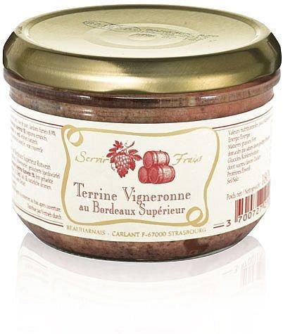 Winzerterrine mit Bordeaux Supérieur 180 g