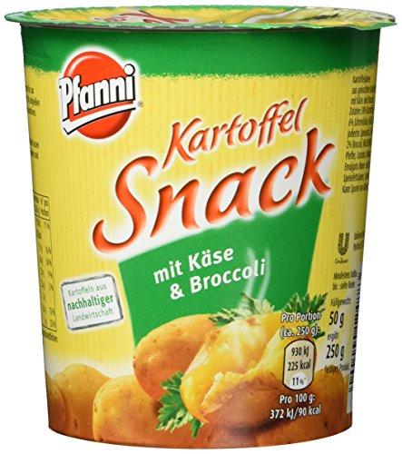 Pfanni Kartoffelsnack mit Käse & Broccoli, 4er-Pack (4 x 200 ml)