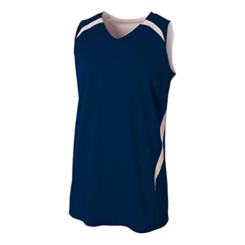 8325d358e5d7 2-Color Reversible (CUSTOM or Blank Back) Basketball Uniform Jersey Tank Top  (