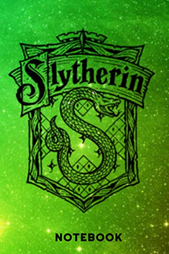 Harry Potter: Slytherin   Notebook , Journal   Perfect for Birthday gifts and Fan club members: Perfectly Lined journal ,120 pages , 6x9 inches