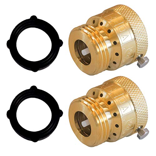 in budget affordable Vacuum switch for Hourleey mixer, brass hose backflow prevention, 3/4 inch