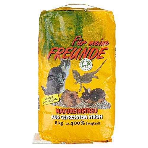Strohstreu Katzen - Kleintierstreu, 8000 g