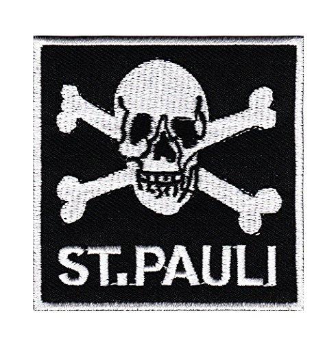 St. Pauli Aufnäher Bügelbild