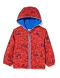 Chicco K-Way Bimbo con Cappuccio Chaqueta Impermeable, Rojo (Rossol BLU 076), 86 (Talla del Fabricante: 086) para Bebés