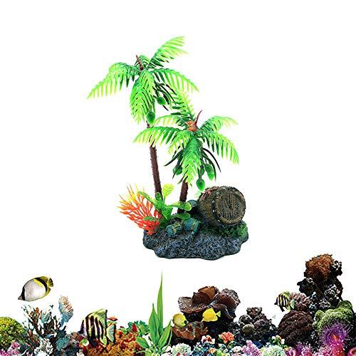 Plantas de Acuario Plantas Naturales para Acuarios Tanque de Peces Decoración Las Plantas del Acuario Artificial Accesorios del Tanque de Peces de 5.51inch