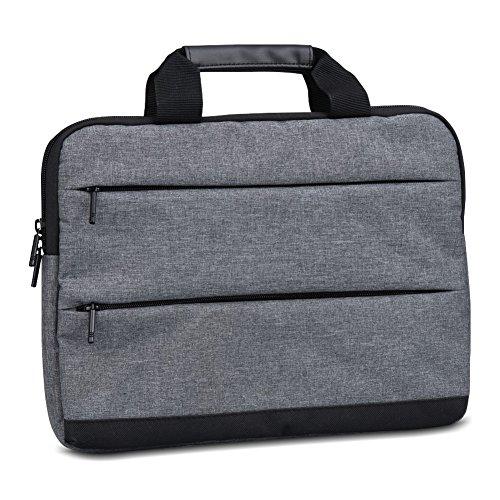 Notebook Schutzhülle kompatibel mit HP 255 G6 Tasche Laptop Schutz Sleeve Hülle Hülle Cover Dunkel Grau