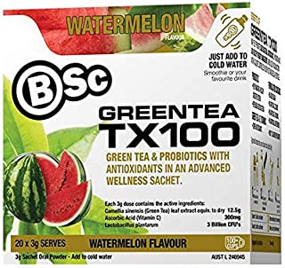 Green Tea TX100 - (20 Serves - Watermelon)