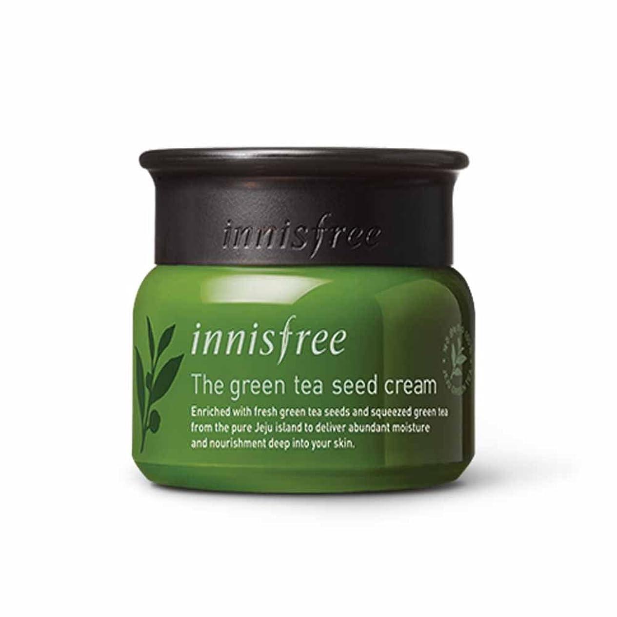 外国人牛変装イニスフリーグリーンティーシードクリーム50ml Innisfree The Green Tea Seed Cream 50ml[海外直送品][並行輸入品]