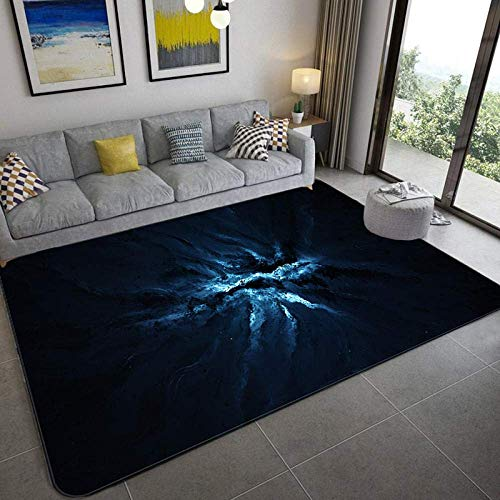 Area Carpet Rug Floor Mat Rugs Galaxy Space Stars Pattern Carpets For Living Room Bedroom Area Rug Kids Room Play Mat Soft Flannel 3D Printed Home Large Carpet-8_152X244Cm